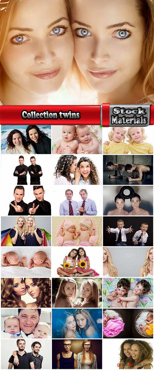 Collection twins baby girl woman man 25 HQ Jpeg