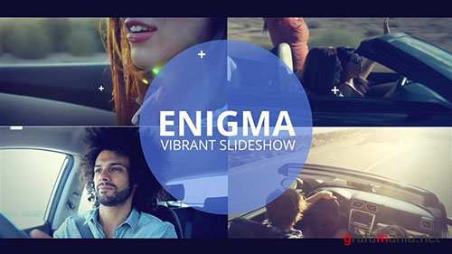 Enigma - Vibrant Slideshow - After Effects Template (RocketStock)