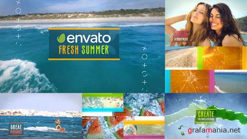 Stylish Summer Slideshow - Project for After Effects (Videohive)