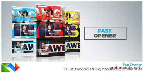 Fast Opener 17273323 - Project for After Effects (Videohive)