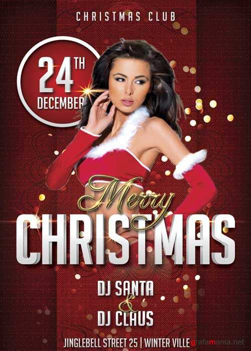 Christmas Party V11 Flyer Template