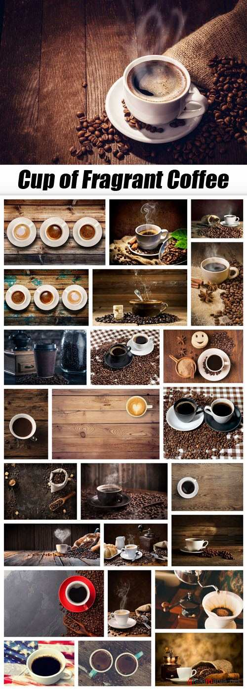 Cup of Fragrant Coffee - 25xUHQ JPEG