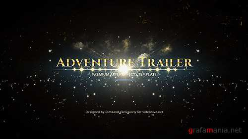 Adventure Trailer - Project for After Effects (Videohive)