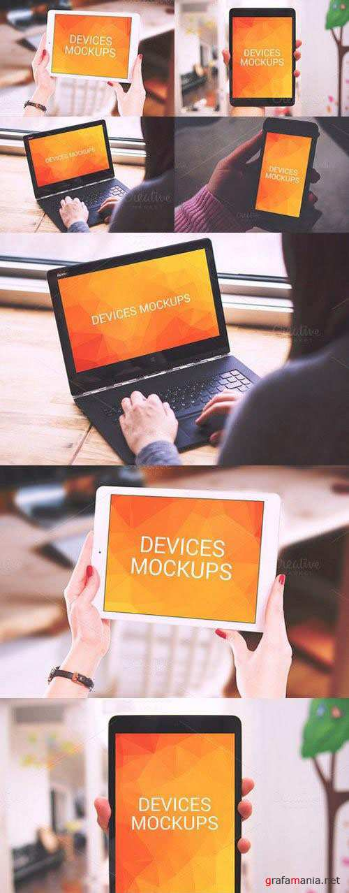Devices - Mockups 398029