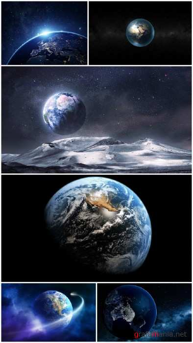 Photos Earth From Space wallpapers (Big Pack 1)
