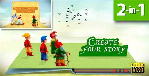 Pop-up Book Creator - After Effects Project (Videohive)