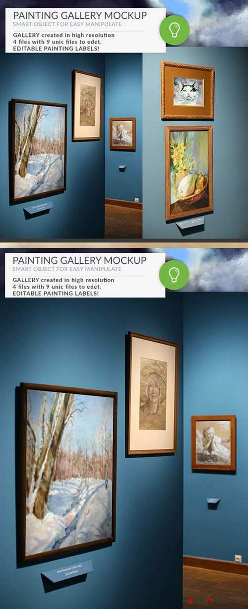 Gallery Mockups Posters HD - 868784