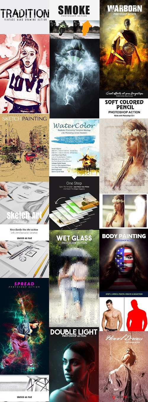 This Day Bundle 32 - Actions, Brushes, Templates
