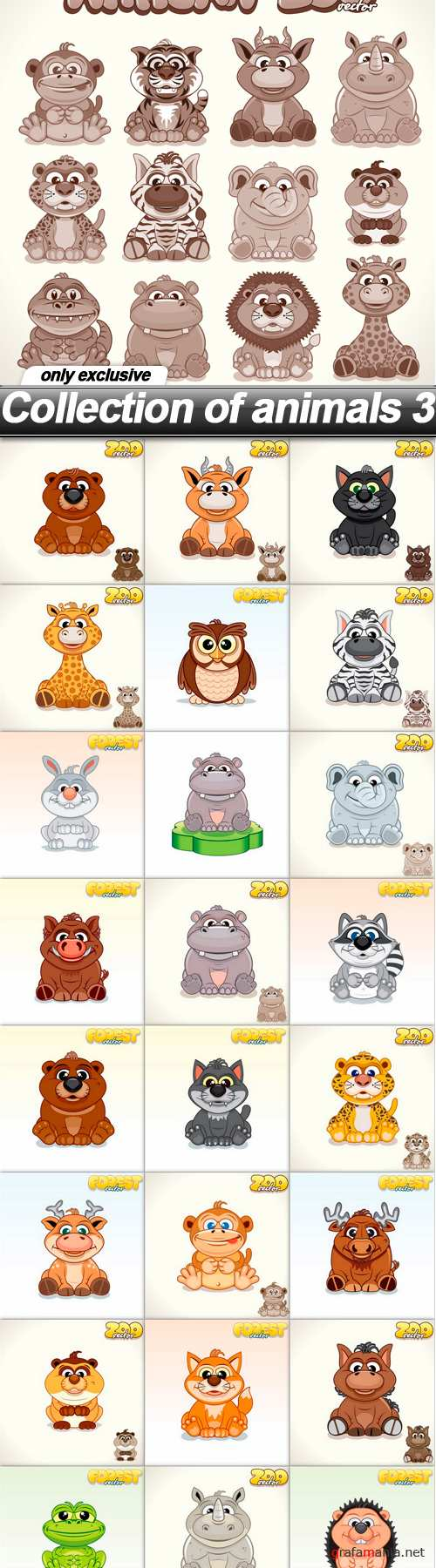 Collection of animals 3