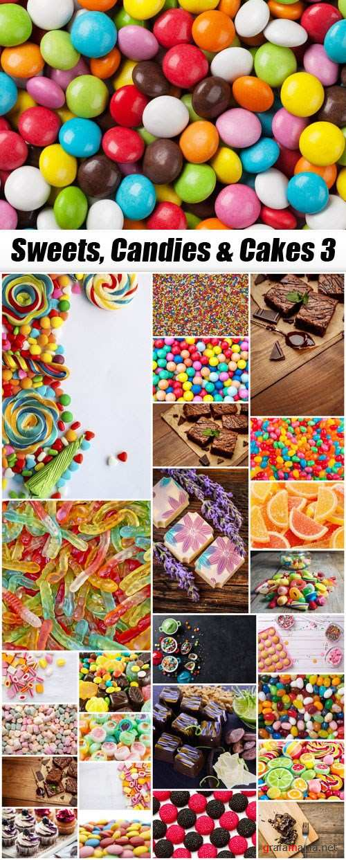 Sweets, Candies & Cakes 3
