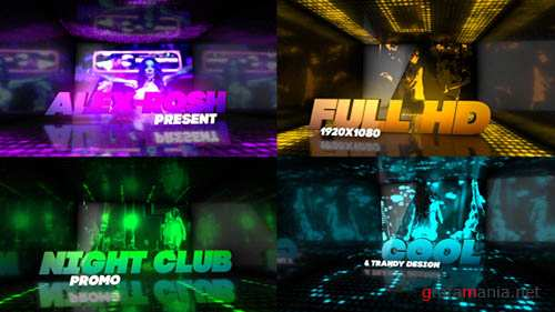 Night Club Promo - Project for After Effects (Videohive)
