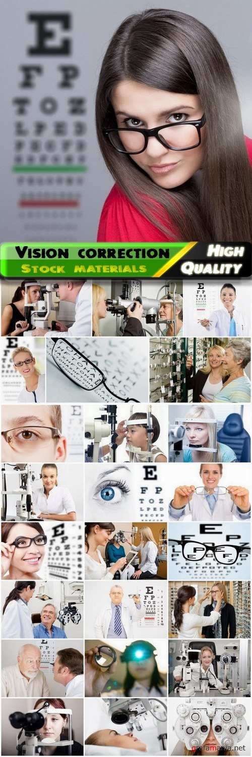 Medical vision correction and doctor ophthalmologist - 25 HQ Jpg