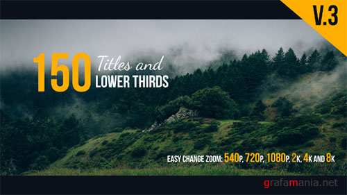 The Titles 17100792 - Project for After Effects (Videohive)