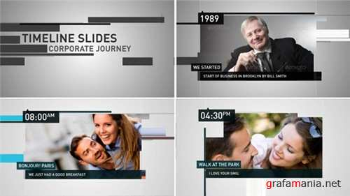Timeline Slides - After Effects Project (Videohive)