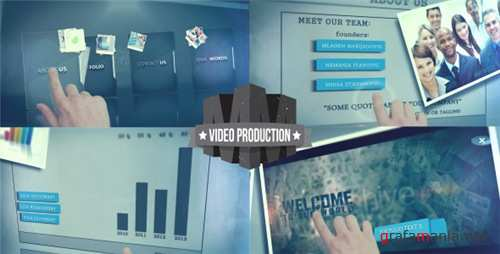 Touch Screen Presentation - After Effects Project (Videohive)