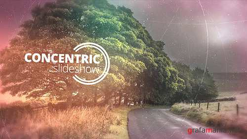 Concentric Slideshow - Project for After Effects (Videohive)