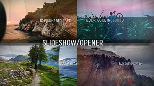 The Layers Slideshow - Project for After Effects (Videohive)