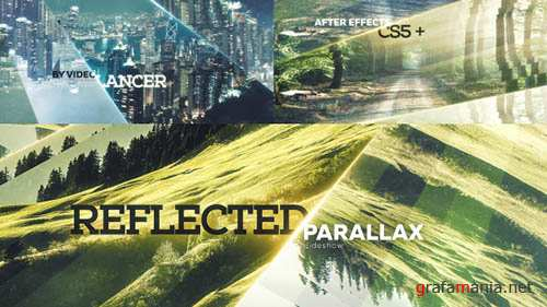 Reflected Parallax Slideshow - Project for After Effects (Videohive)