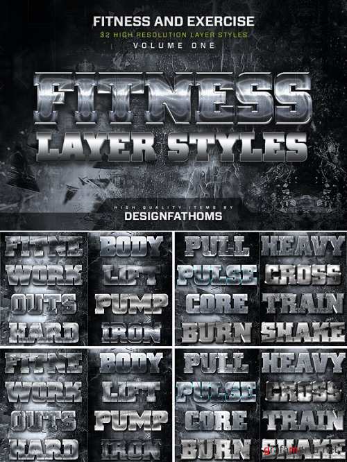 32 Fitness and Exercise Styles Vol 1 - 896279