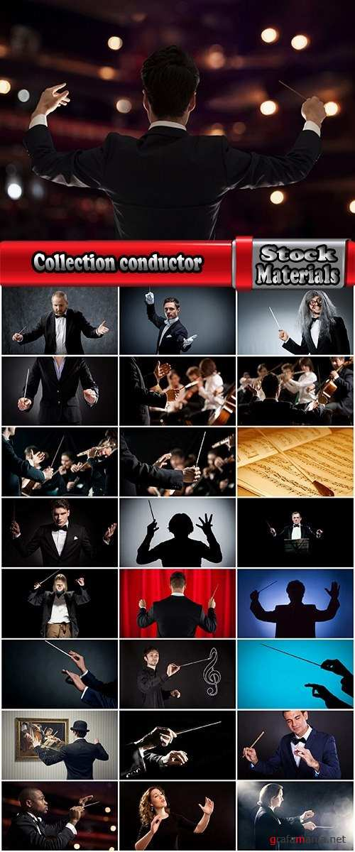 Collection conductor symphonic orchestra of opera house theater of 25 HQ Jpeg