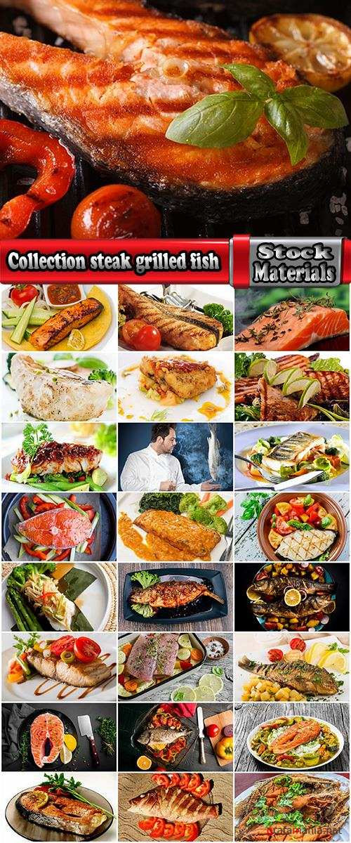 Collection steak grilled fish salmon tuna snapper 25 HQ Jpeg