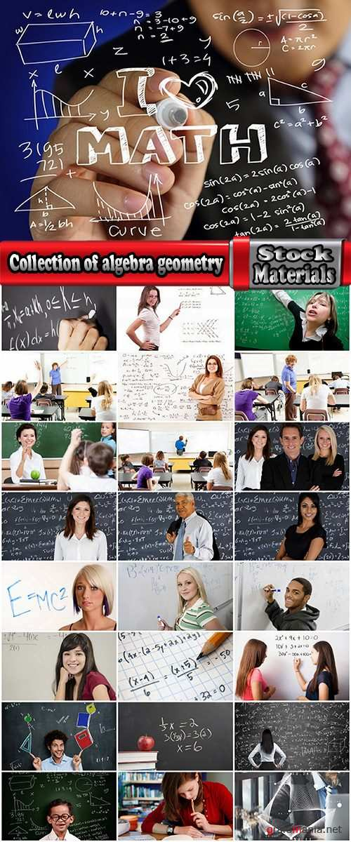 Collection of algebra geometry formula study education student schoolboy 25 HQ Jpeg