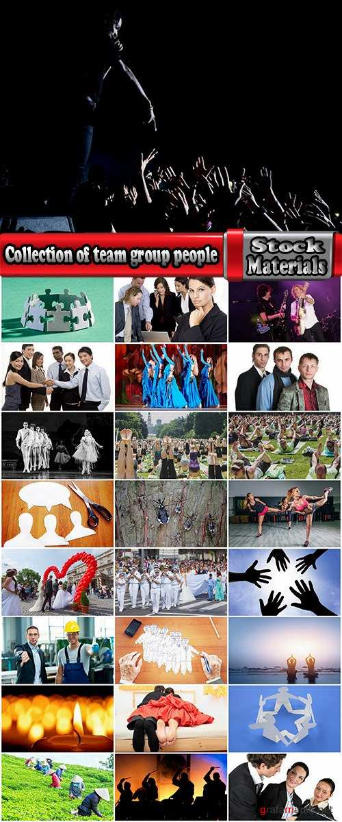 Collection of team group people crowd business team 25 HQ Jpeg