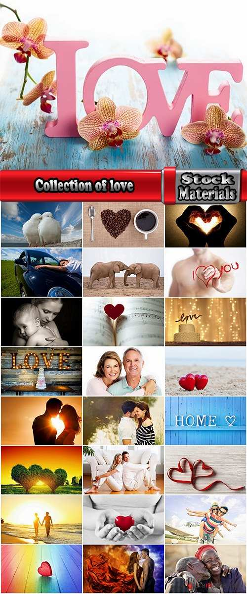 Collection of love Conceptual illustration of a couple of people dream of harmony 25 HQ Jpeg