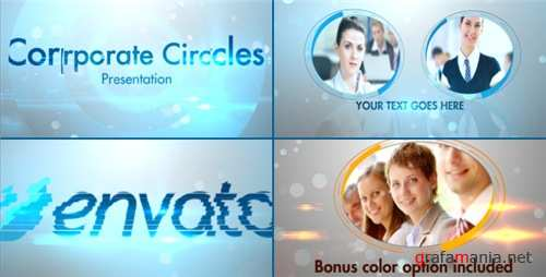 Stylish Corporate Circles Presentation - After Effects Project (Videohive)