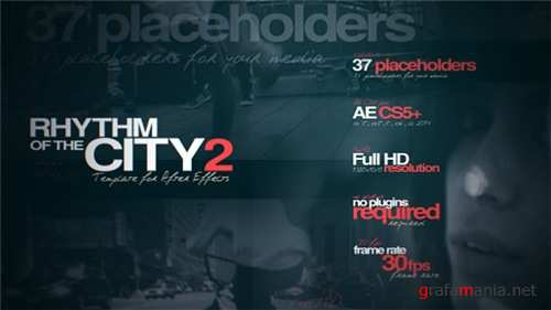 Rhythm of the City 2 - After Effects Project (Videohive)