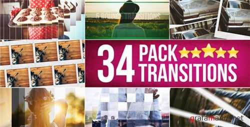 34 Transitions Pack - After Effects Project (Videohive)