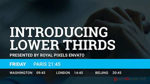 Lower Thirds 17892809 - Project for After Effects (Videohive)