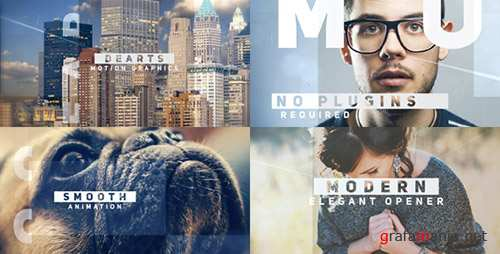 Modern Elegant Opener - Project for After Effects (Videohive)