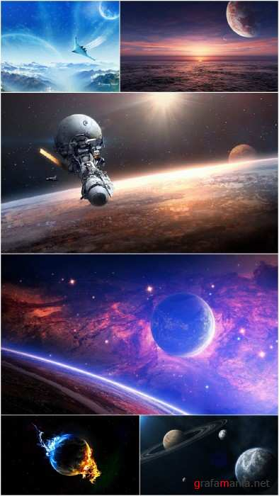 Wallpapers - Space (Pack 8)