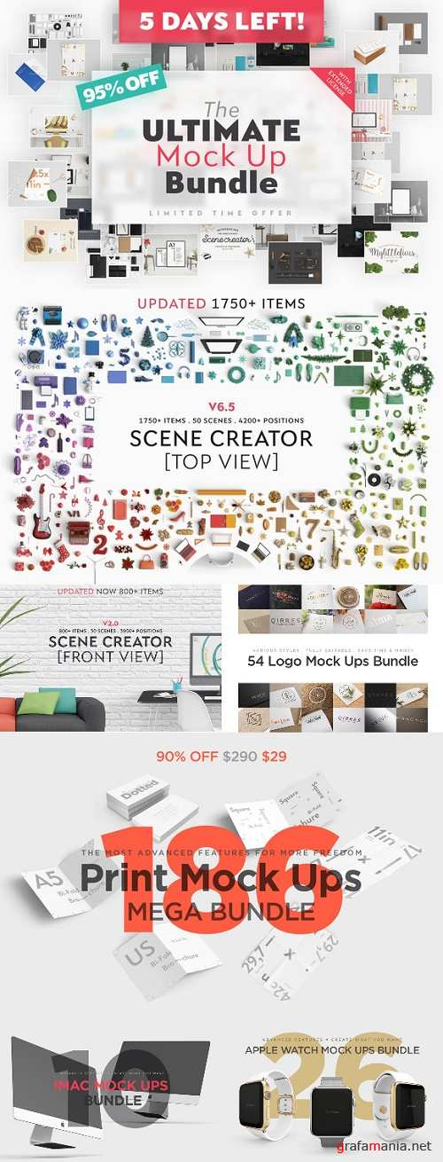 The Ultimate Mock Up Bundle - 868097