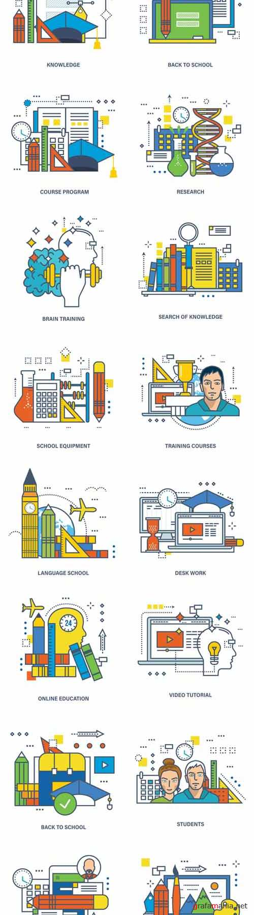 Vector Concept of Education