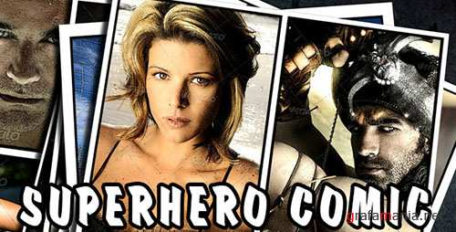 Superhero Comic - Project for After Effects (Videohive)
