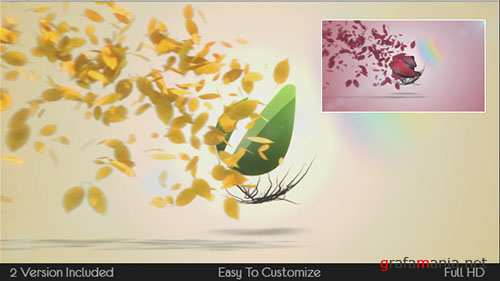 Flying Leaves Logo Reveal - Project for After Effects (Videohive)