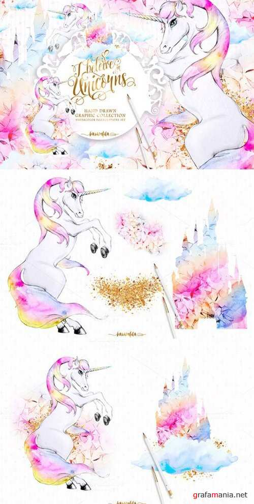 Unicorns Clipart - 910410