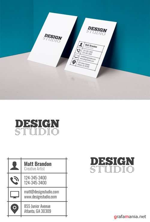 Classic Business Card - 641845