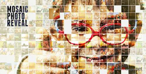 Mosaic Photo Reveal Version 2.1 - Project for After Effects (Videohive)