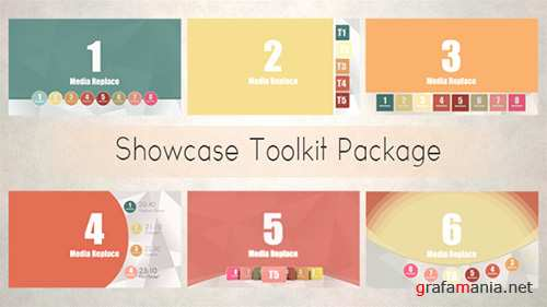 Showcase Toolkit Package - Project for After Effects (Videohive)