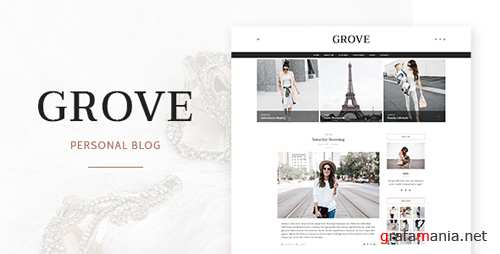 Grove - Personal Blog Template 17765714