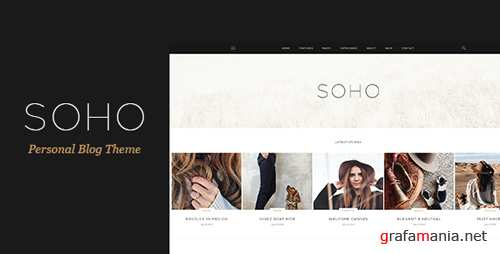 SOHO - Personal Blog Theme for Travelers and Dreamers 16531508