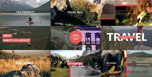 Travel Reel With Titles - Project for After Effects (Videohive)