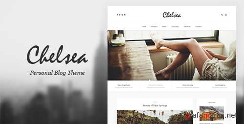 Chelsea - Personal Blog Template for Travelers and Dreamers 15056802