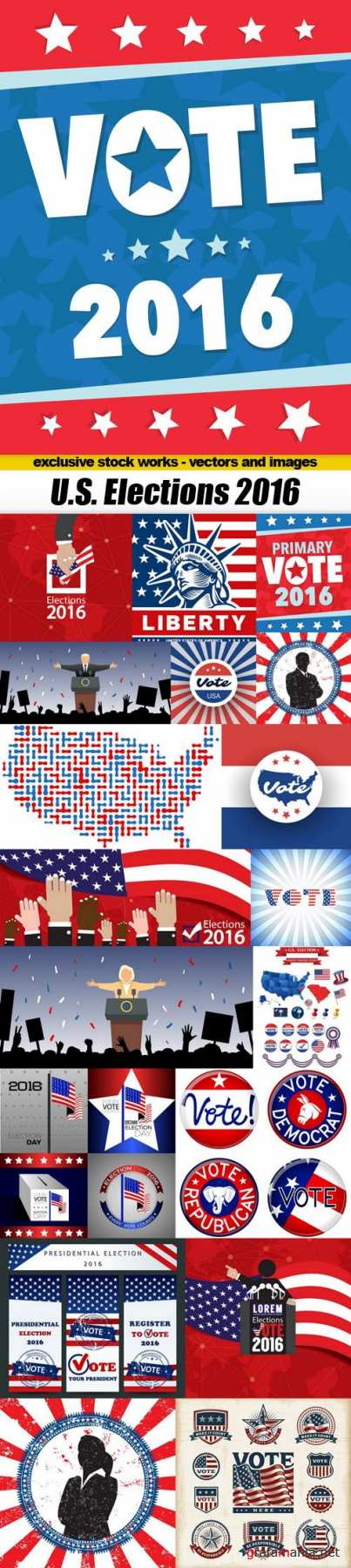 U.S. Elections 2016 - 20xEPS