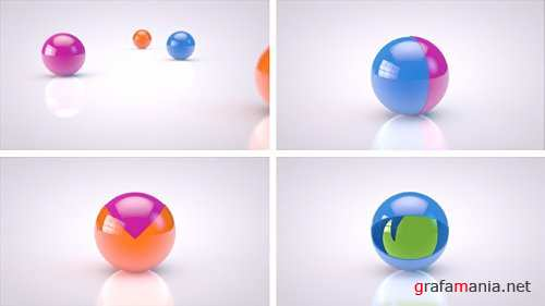 Dreamy Balls - Project for After Effects (Videohive)
