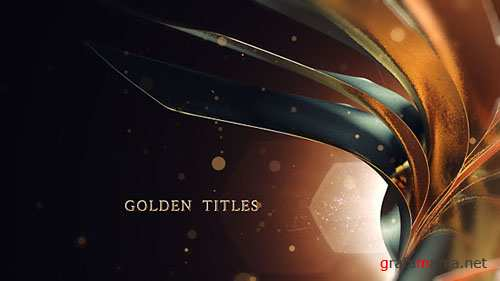 Golden Titles 17915387 - Project for After Effects (Videohive)