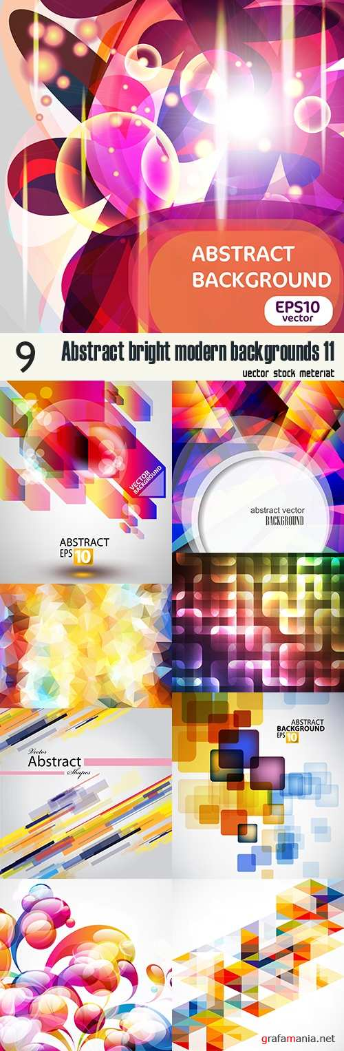 Abstract bright modern backgrounds 11